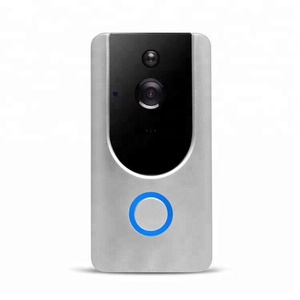 IR night vision wifi IP security video intercom PIR motion alarm best doorbell camera