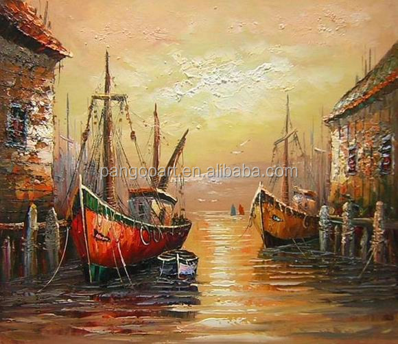 Handmade Canvas Art Venice Italy Landscape Oil Painting Buy Oil Painting Modern Art Decoration Abstract Oil Painting Product On Alibaba Com