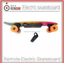 Maple Wood High quality 250W cheap motorized skateboard 4 wheel