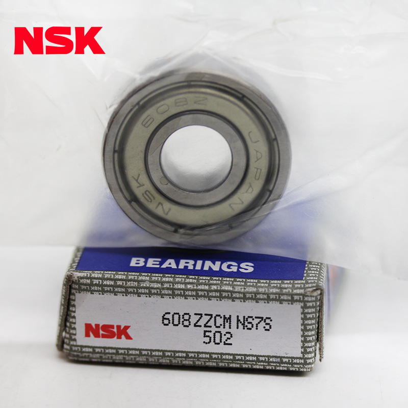 High precision nsk skate bearings nsk bearing 608 z 1