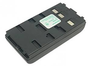 PowerSmart 2100mAh 6V Ni-MH Camcorder Battery for Panasonic PV-A206, PV-A207, PV-A286, PV-A306, PV-A307, PV-D326, PV-D406, PV-D407, PV-D506, PV-D507, PV-D607, PV-D705, PV-D1000