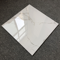 Super White Marble Ceramic Tiles Indoor Carrara Wall Foshan Porcelain Mirror Tiles Factory Price