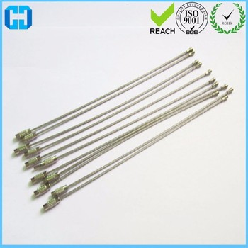 1.5 Mm Diameter Stainless Steel Wire Ring Keychain Cable Key Luggage ...