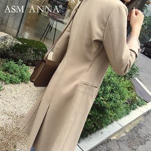ASM ANNA Fashion Factory Made Thin Slim Ladies Office Coat Design Eco-Friendly Material Autumn Coat Women