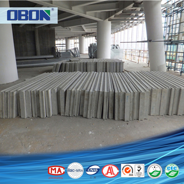 OBON waterproof exterior interior ready made cement wall board