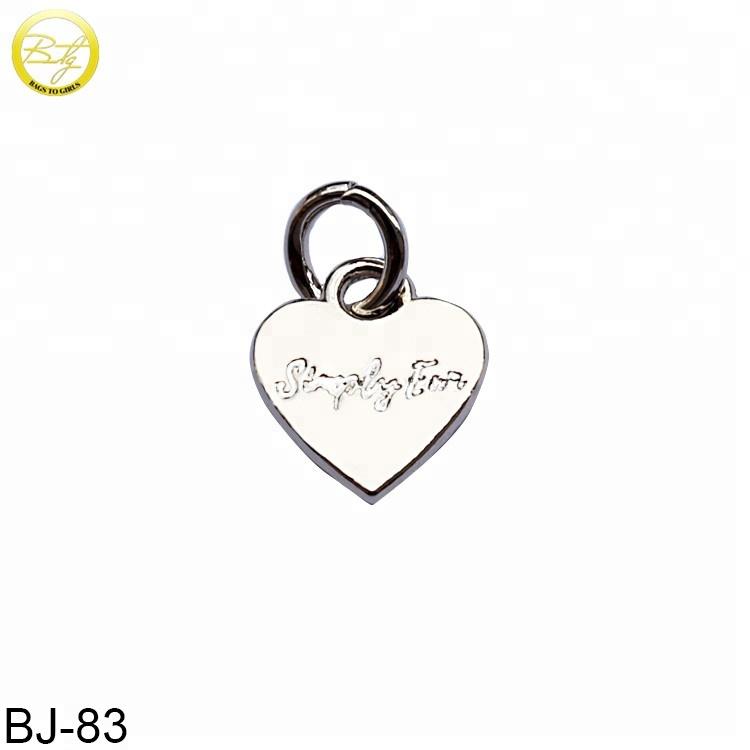 5 pcs blank necklace setting heart rose design