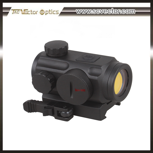 OEM/ODM Torrent 1x20 Red & Infrared IR Dot Sight Scope with 20mm Weaver QD Mount Base for Night Turkey Hunting