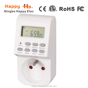HG01E 230VAC 50Hz indoor LED weekly digital timer electrical timer