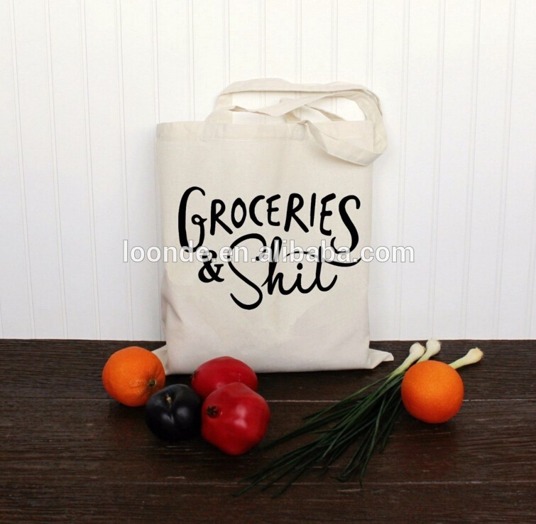 Promotion products for cotton canvas tote bag