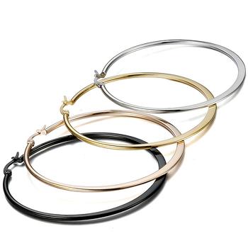 c45a7cdb0dc2 Pendiente de la moda diseños nuevo modelo pendientes 3 pares de aretes de acero  inoxidable Conjunto