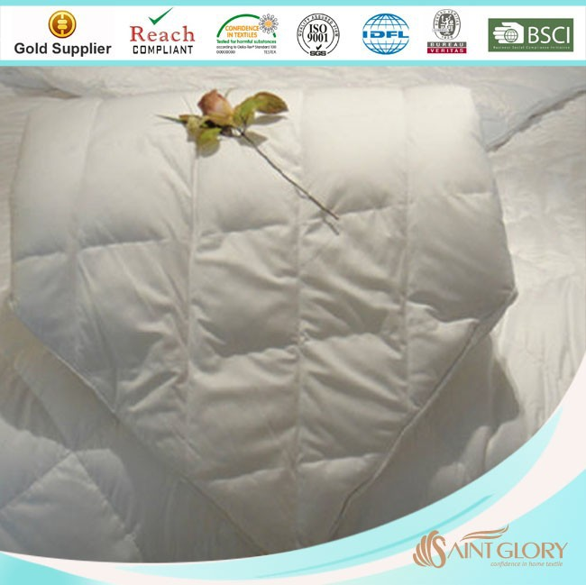 cheap summer thin polyester filling comforter
