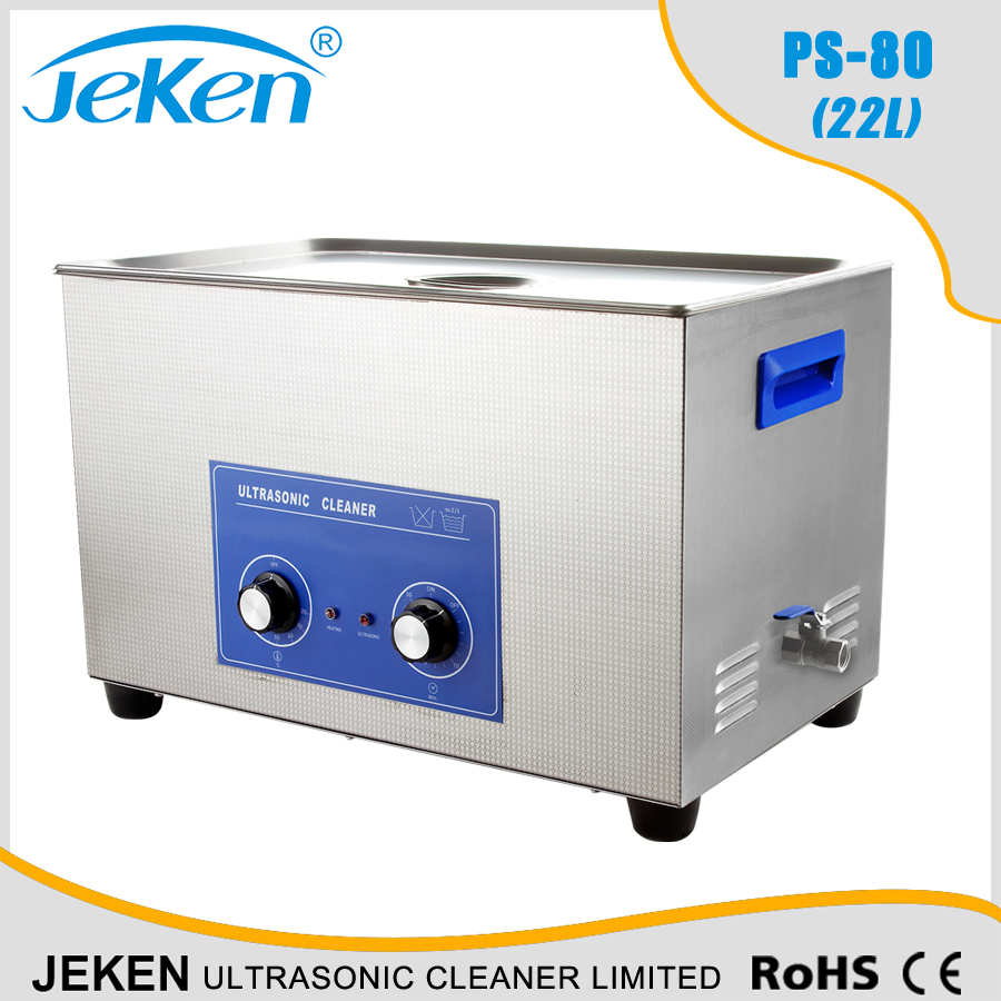 Jeken PS-80 22L Industrial ultrasonic cleaner cleaning transducer generator with heater