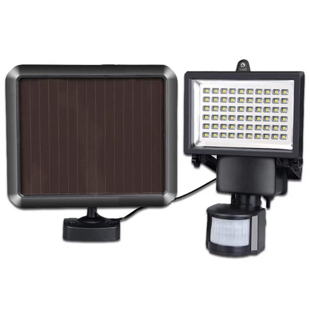 KWWA Solar Light Human Body Induction Floodlight Led Outdoor Infrared Sensor Street Light