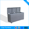 High Capacity Outdoor Movable Rattan Storage Box
