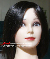 100% Human Hair Handtied Custom Medical Hair Loss Wigs for Women