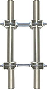 Ambient Weather EZ-HD-PTP-100 Heavy Duty Mast to Mast Mounting Kit for AcuRite Weather Stations