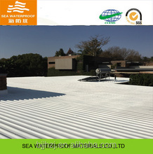 High adhensive concrete white roof coating