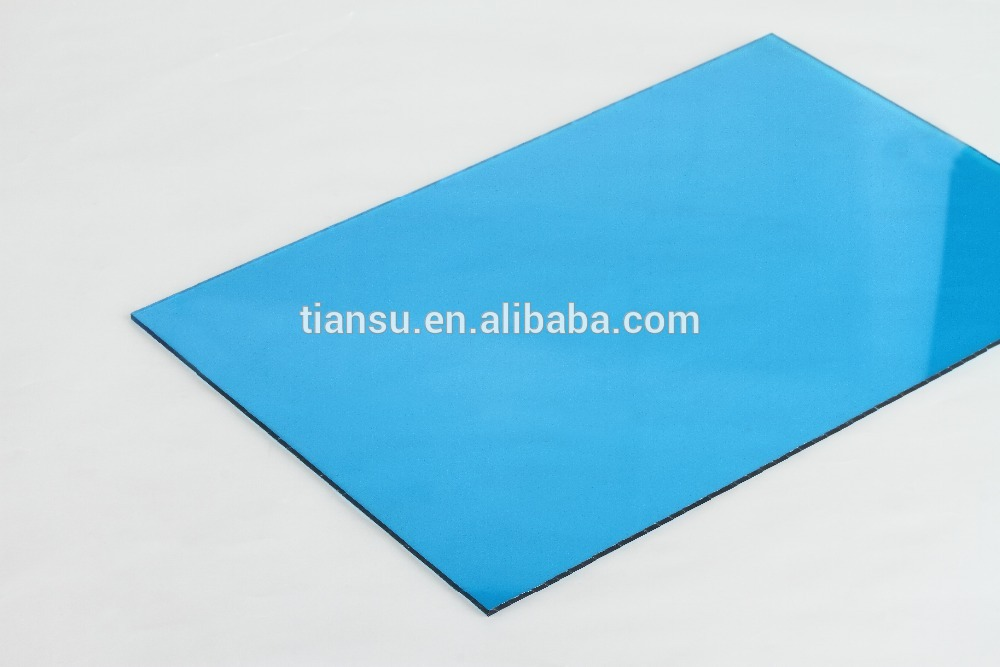 Tiansu Windows sheds polycarbonate solid sheet blue clear
