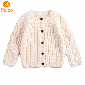 Factory OEM 100% cotton baby Girls clothing knit sweater design