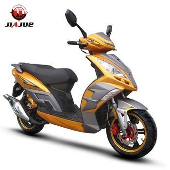jiajue 2017 new patent design gas scooter for wholesale