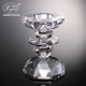 hot sale tall glass crystal candle holders cheap