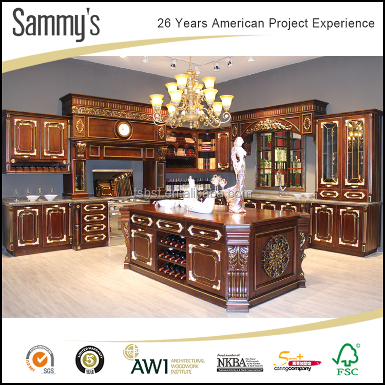 High End Kitchen Cabinets: Ak121 Sammys High End Knock Down Kitchen Cabinets Solid