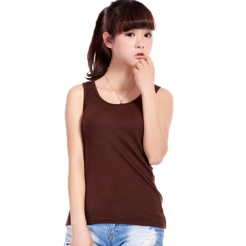 df3e9abf7bb13 2015 New Tank Tops Women Clothing High Quality 100% Cotton Sexy Candy  Colors Female Sleeveless