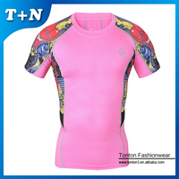 Wholesale Custom Made Women Compression T Shirt With Long Sleeve