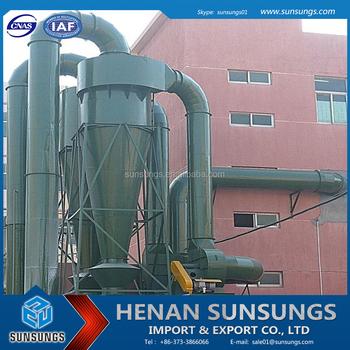 Henan Sunsungs Professional Manufacturer Gas Disposal Cyclone Separator -  Buy Cyclone Separator,Cyclone Separator Price,Dust Collector Price Product
