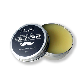 MELAO Beard & Mustache Balm / Oil / Wax / Leave In Conditioner Natural Conditioning that Soothes Itching