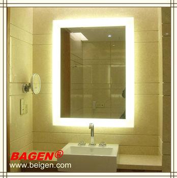 Shanghai Verlichte Muur Spiegel,Decoratieve Badkamer Spiegel ...