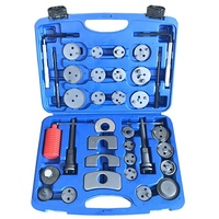 35pc Car Truck Brake Piston Tool Caliper Wind Back Tool Kit Left and Right Hand Universal Set