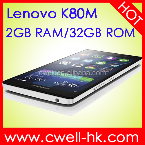 Lenovo K80M Android Smart phone 5.5 Inch INTEL Z3560 Quad Core 1.8GHz 2GB RAM/32GB ROM phones original smartphone 4g