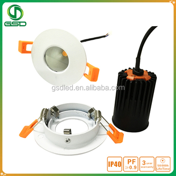 Traditional halogen lamps replacement cob led mr16 module with external driver