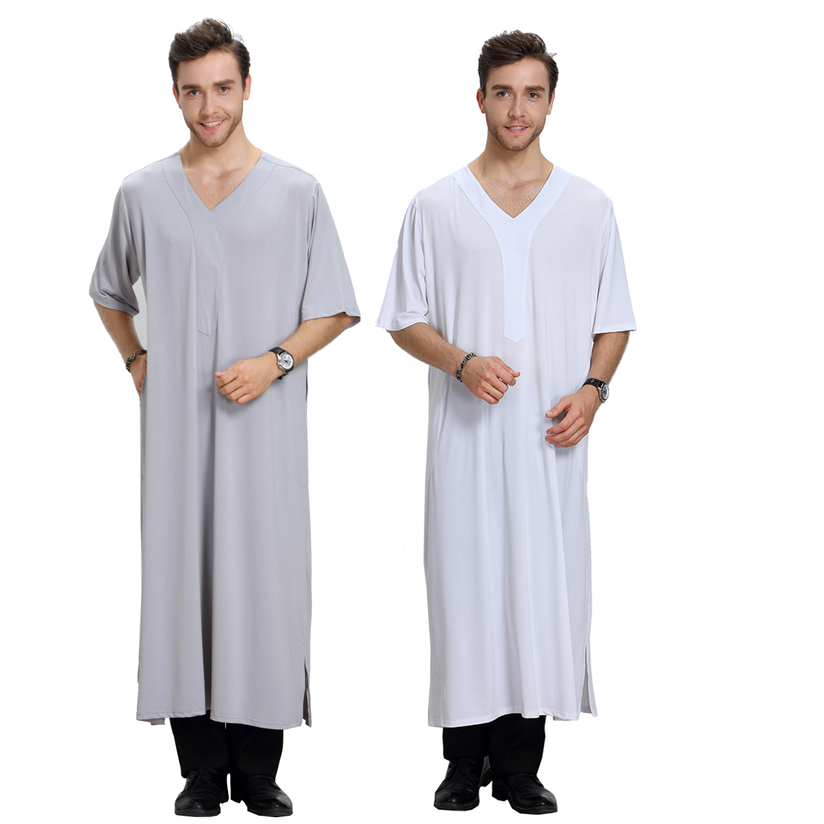 stock latest abaya jalabiya kaftan dubai men designs