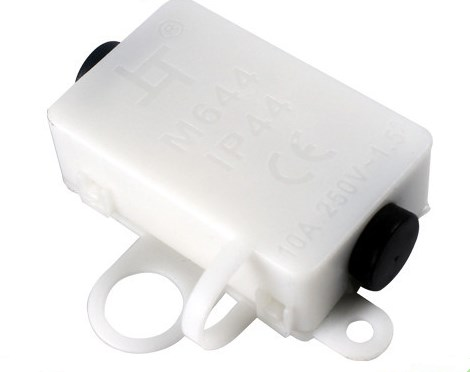 Made in China road lamp White waterproof cable connector box M644