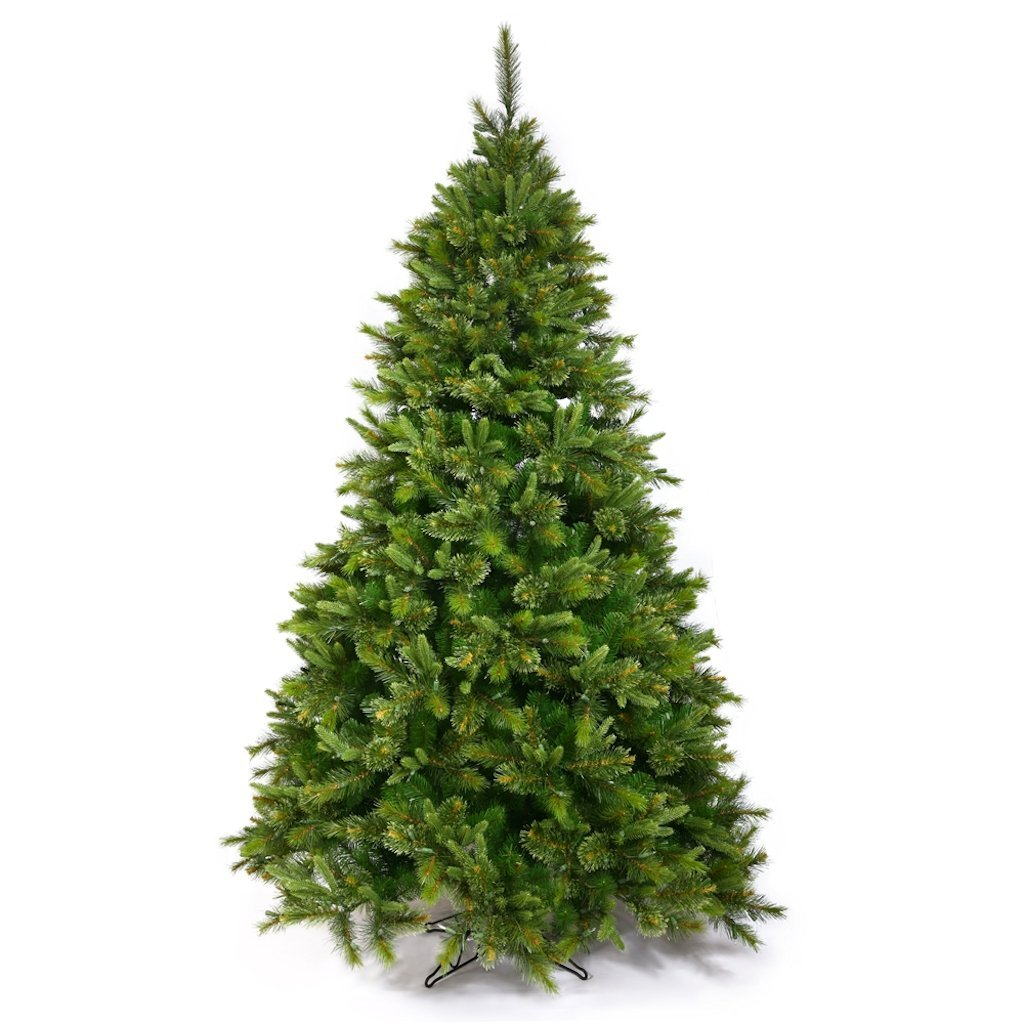 9.5 ft. x 54 in. Slim Cashmere Fir 2168 Tips 1000 Dura-Lit 7-Color Multi Lights Vickerman A118187
