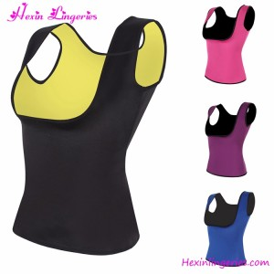 Customized logo Factory Price Neoprene Slimming Neoprene Sauna Sweat Vest