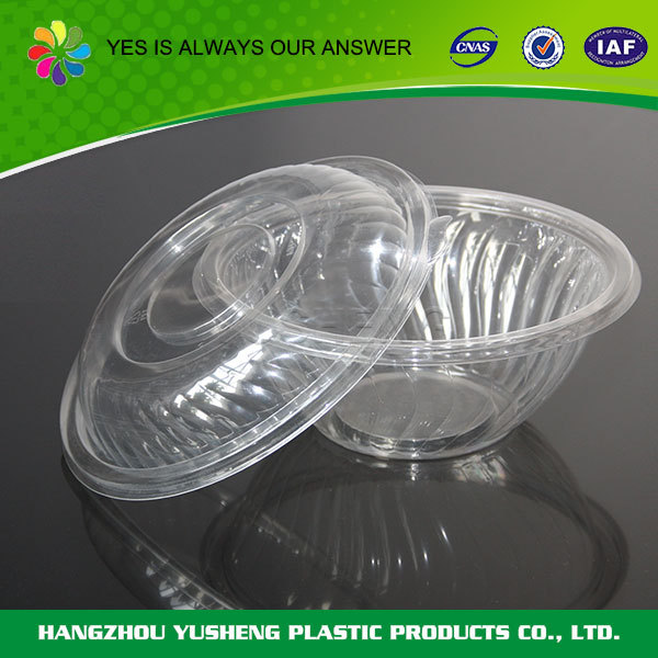 Best selling products PS/PET material disposable custom bowl