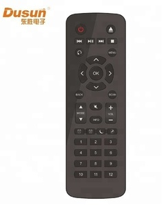 IR remote control for TV and STB
