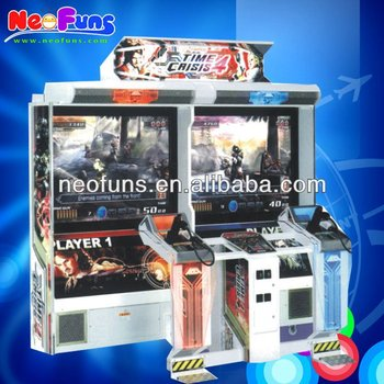 Time Crisis 4 52 Inch Arcade Machine Shooting Game Video Machine ...