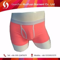 2017 New Design 100% Cotton organic egyptian disposable underwear men brand