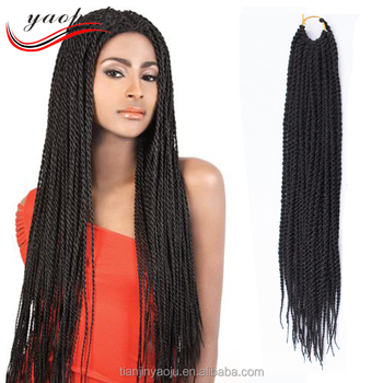 Hot Sales China Manufacturer Synthetic Senegal Braid Hair 18 22 Inch