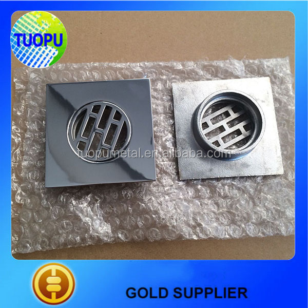 Tuopu manufacturers Bathroom accessory types of floor drain,4 inches stainless steel floor drain,floor drain for sale