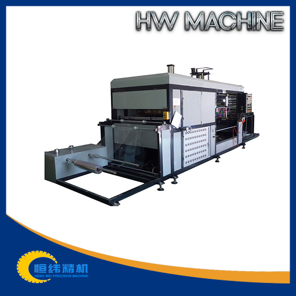 Mini plastic cup cover making machine for disposable plastic packing