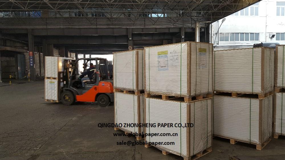 אמנות נייר מצופה 1 צד 61*86 cm couche נייר מבריק
