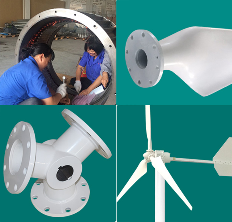 Free Energy Solar Permanent Magnet Home Small 1kw Big 2kw 3kw 5kw 10kw 20kw 50kw 1mw Vertical Axis Wind Turbine Generator Price
