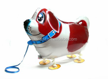 Wholesale animal walking pet foil balloon