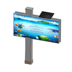 High way advertising display solar billboard