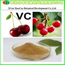 Factory Supply Pure Acerola Cherry Extract 25% Vitamin C/Natural Acerola cherry extract Powder